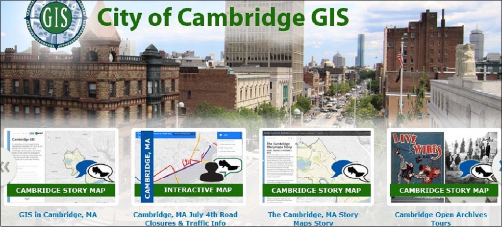 Cambridge MA Story Maps