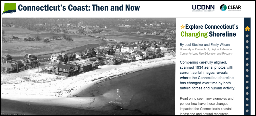 Connecticut's Coast: Then and Now