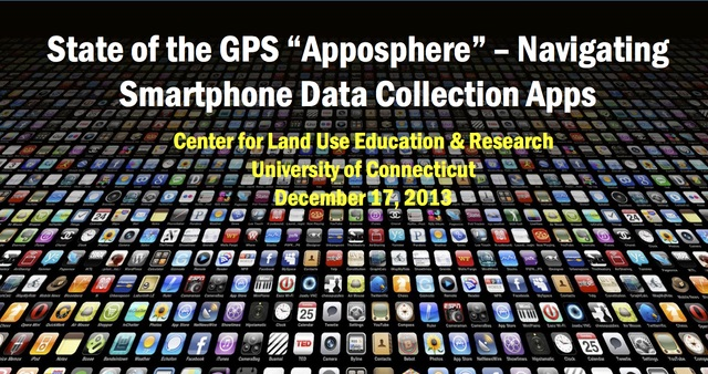 "State of the GPS ""Apposphere"" - Navigating Smartphone Data Collection Apps"