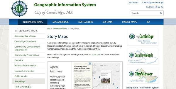 CambridgeGISstorymap-tale1