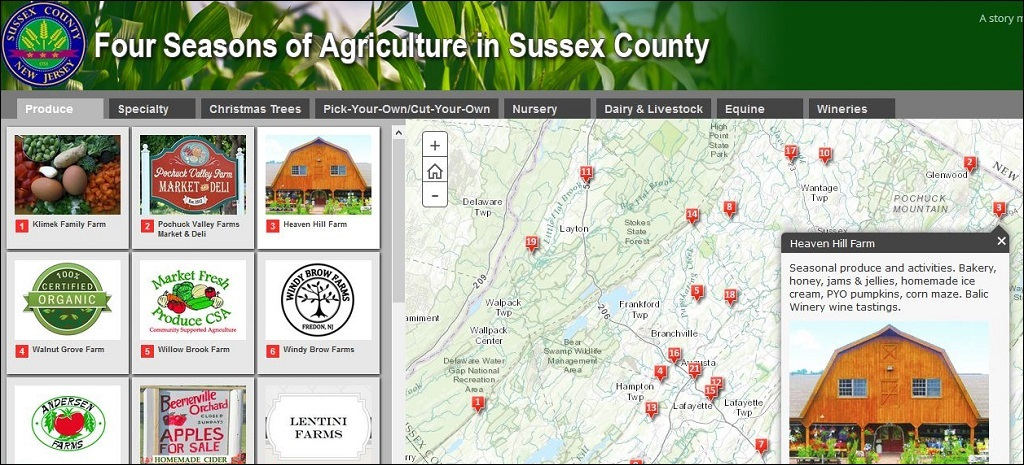 Four Seasons of Agriculture in Sussex County