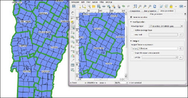 Creating a Map Atlas in QGIS - A Map Series from One Project