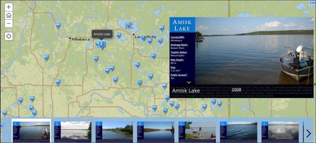 LakeWatch Monitored Lakes
