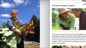 Oregon State University Seeds to Supper Story Map