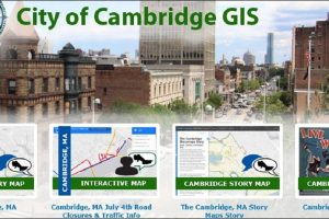 City of Cambridge, GIS and Story Maps