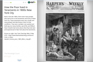 Exploring mapping and spatial relationships in the humanities - Harpers Weekly example