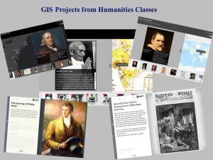 GIS Projects from Humanities Class