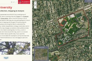 Adventures in Campus Tree Mapping