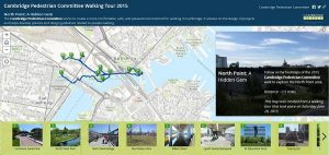 Cambridge Pedestrian Committee Walking Tour 2015