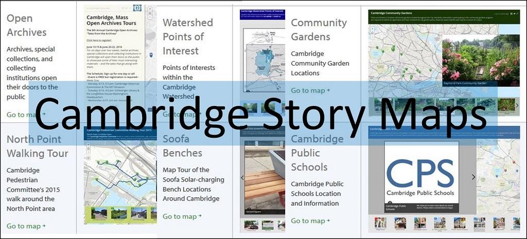 Cambridge, Massachusetts Story Maps Gallery