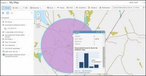 Spatial Analysis in ArcGIS Online