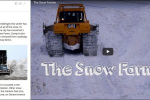 Boston's Snow Journal