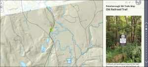 Peterborough NH Trail Map