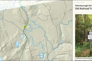 Peterborough NH Trail Map