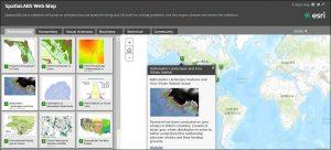 SpatiaLABS Web Map