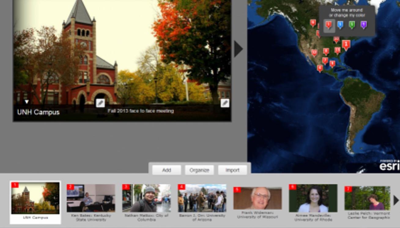 University of Rhode Island EDC blog   Story Maps