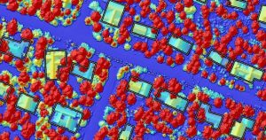 Mapping Buildings in Vermont - Transforming Lidar Data into Information