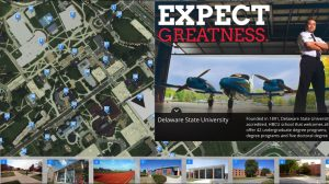 Delaware State University Campus Tour map