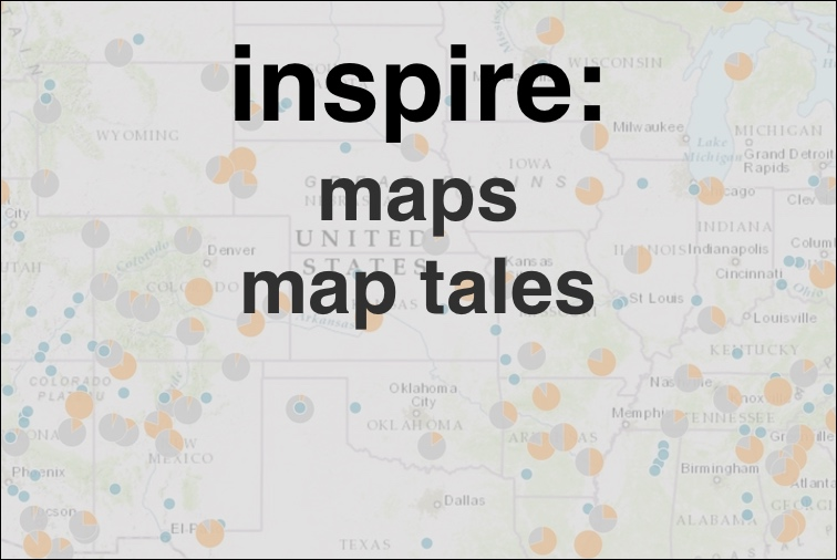 Inspire: maps, map tales