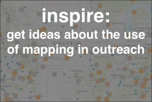 Inspire: examples and stories of maps used for outreach