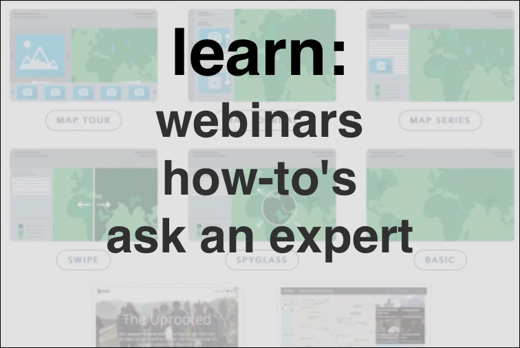 Learn: webinars, how-to's, ask an expert