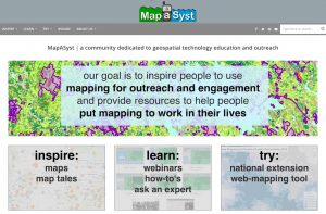 MapASyst - Geospatial Technology for UNH Cooperative Extension