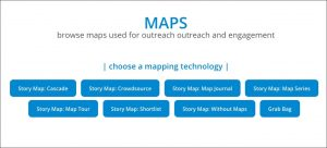 MAPS: browse maps used for outreach outreach and engagement