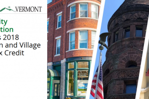 Community Revitalization: Vermont's 2018 Downtown and Village Center Tax Credit Awards
